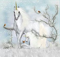 Winter Unicorns