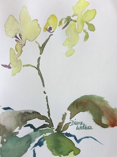 Buy Zen Orchid #6, Watercolour by Diane Wallace on Artfinder. Discover thousands of other original paintings, prints, sculptures and photography from independent artists.