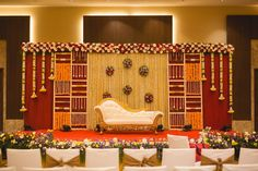 When you're looking for flower decorators in Hyderabad or Wedding Stage Decoration, choose the best professionals. Indian Wedding Stage, Wedding Stage Backdrop, Wedding Backdrop Design, Desi Wedding Decor, Wedding Stage Design, Wedding Stage Decorations, Backdrop Decorations, Wedding Mandap, Reception Stage Decor