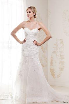 v souz wedding dresses 2014 cleo strapless bridal gown