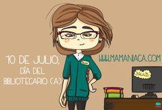 #orgullobibliotecario Día del Bibliotecario / 10 de Julio via Nieves Gónzalez