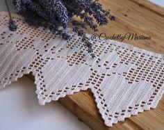 Ribete de encaje de ganchillo, crochet trim, crochet el artículo