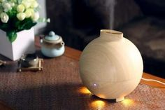 Organically Designed Humidifiers - The LED Ultrasonic Air Diffuser from 'MIU COLOR' Looks Natural (GALLERY)