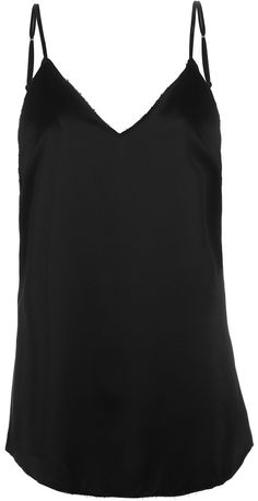 Zillah Raw Edge Slipdress - Black | Are You Am I