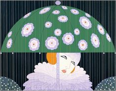 Erte. Spring Rain