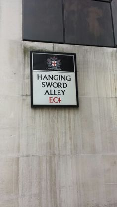 Love those old street names
