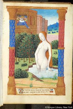 Book of Hours, MS H.1 fol. 57r - Images from Medieval and Renaissance Manuscripts - The Morgan Library & Museum