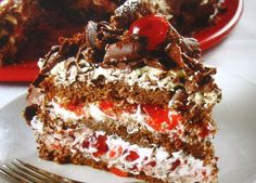 Olha só que maravilha de bolo!! - Aprenda a preparar essa maravilhosa receita de Bolo floresta negra
