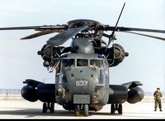 Sikorsky Ch 53 Main Rotor That Guy Is About To Get The