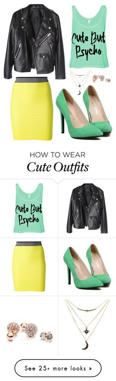"""Untitled #141"" by ana631 on Polyvore featuring Alexander Wang, Charlotte Russe and GUESS"