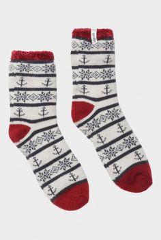 Cabin Socks by Seasalt Cabin Socks, Comfort And Joy, Designer Shoes, Nautical, Coastal, Inspiration, Clothes, Accessories, Beautiful