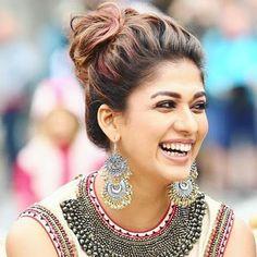 South Indian Actress Nayanthara Latest HD Photos Gallery Nayantara is an Indian film actress, who is best known in South Indian films. Indian Hairstyles, Diy Hairstyles, Straight Hairstyles, Bollywood Hairstyles, Saree Hairstyles, Nayanthara Hairstyle, South Indian Bride, Most Beautiful Indian Actress, India Beauty