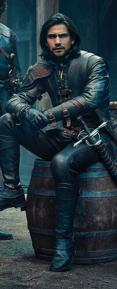 D'artagnan. The Musketeers. Credit to knights-and-musketeers on tumblr