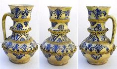 Saxon pitcher from Transylvania, Kingdom of Hungary. Ethnographic Museum of Transylvania, Kolozsvár (Klausenburg, Cluj-Napoca).