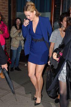 Jennifer Lawrence in David Koma for Mugler dress