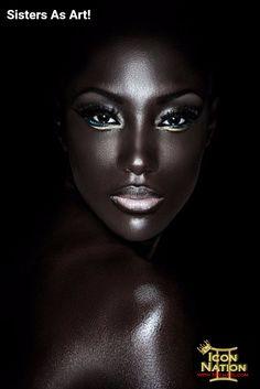 Highlights on black skin lighting - amazing beauty skin, dark beauty, beauty makeup, Black Photography, Makeup Photography, Amazing Photography, Portrait Photography, Fashion Photography, Food Photography, Photography Lighting, Dark Beauty, Beauty Skin