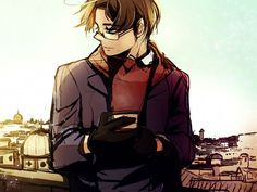 Hetalia Austria. HOLY COW HE'S HOT!!!