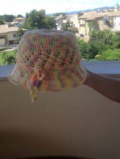 Cappelli in Cotone lavorati a mano linea bambine., by Maura Creazioni, 20,00 € su misshobby.com
