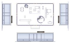 Philip Johnson Glass House Dimensions | Potete avere il file dwg, versando la quota di 12,00 euro cliccando ... Philip Johnson Glass House, Johnson House, Classic Architecture, Architecture Plan, Farnsworth House, Architect House, Minimalist Home, House Floor Plans, House Design
