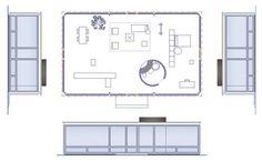 Philip Johnson Glass House Dimensions   Potete avere il file dwg, versando la quota di 12,00 euro cliccando ...