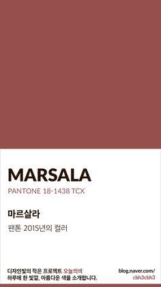 [오늘의 빛: 오늘의 색] 마르살라 : 네이버 블로그 Flat Color Palette, Colour Pallette, Pantone Colour Palettes, Pantone Color, Color Harmony, Colour Board, Color Swatches, Color Names, Color Inspiration
