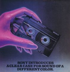 Sony clear cassettes: I bought a LOT of them