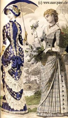 1883 blue polka dot from marquise.desade