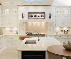 Cream Painted Designer Kitchen - Bespoke Kitchens - Tom Howley