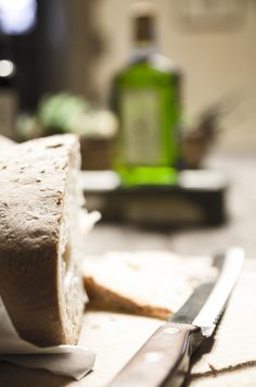 All sorrows are less with bread. [Miguel de Cervantes Saavedra] #Laudemio #olio #oliveoil #EVOO