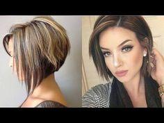 (57) Corte curto - Corte cabelo feminino - Cortes de cabelos curtos - YouTube