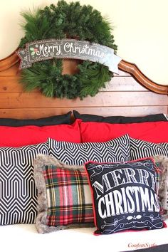 Christmas Bedroom 2015 by ConfettiStyle