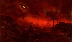 Ralph Albert Blakelock - Forest Fire