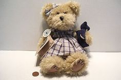 1999 Boyds Bear Rachel and B Bearlove 10.5 In Tall Full Tags Plush Discontinued