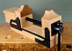 wood carving bench vise round - Google Search
