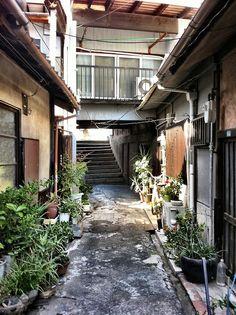Toyonaka-city, Osaka, Japan.