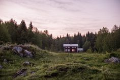 Jonna Jinton | Page 2 Red Cottage, Cottage In The Woods, Cozy Cottage, Cabins In The Woods, Life Is Beautiful, Beautiful Places, Jonna Jinton, Hygge, Lappland