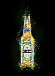 Heineken Expression by Luciano Jardim, via Behance