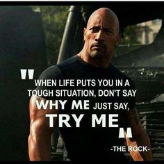 39 Short Motivational Quotes And Sayings (Very Positive Inspiring) - Motivational Quotes Rock Quotes, Quotes To Live By, Positive Quotes, Motivational Quotes, Inspirational Quotes, Dwayne Johnson Quotes, Christine Caine, Warrior Quotes, Isagenix