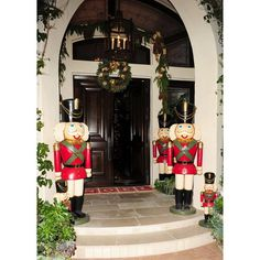 outside Kris' house for the annual Kardashian/Jenner Christmas Eve party