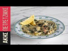 Χοιρινό με σέλινο | Kitchen Lab by Akis Petretzikis - YouTube Happy Foods, Greek Recipes, Tasty Dishes, Oatmeal, Pork, Cooking Recipes, Meat, Breakfast, Greece