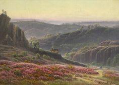 Figures in a Landscape (Gaston Vincent Anglade - )