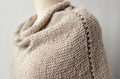 Ravelry: Petal Capelet pattern by Jacqueline Kilmartin