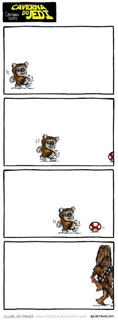 Where wookies really come from