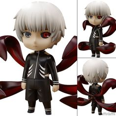 AmiAmi [Character & Hobby Shop] | CharaForm 007. Tokyo Ghoul - Ken Kaneki Complete Figure(Released)