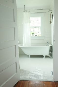 A little too much white... but love the simplicity. Add in some sort of wood or natural elements, would be perfect.