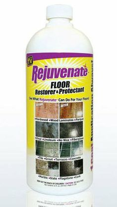 For Life Products RJ32F Rejuvenate Restorer Floor Finish - As Seen On TV by Rejuvenate. $19.95. Floor restorer and protectant fills in scratches and eliminates dull spots. Seals grout and protects floors. Instantly restores shine and luster to all old or worn floors. Seals and protects from water and stains. Mop on in seconds, dries in minutes. 1 coat application. Works on ceramic, concrete, slate, linoleum, laminates, no wax, sealed marble, sealed hardwood, vinyl, fib...