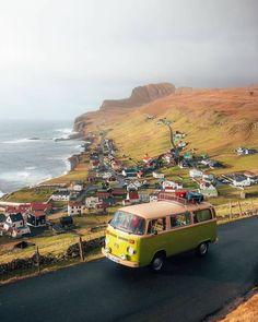 Credit by Instagram >>> ©seppthebus Visit Denmark, Tivoli Gardens, Faroe Islands, Legoland, Beautiful Islands, Beach Day, Van Life, Cruise, Tours