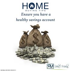 Building your savings is something you should do over and above saving money for the down payment and closing. That money will also help cover maintenance and repair issues that come up when you own a home. While repairs are sporadic, items such as a new roof, water heater or other big-ticket items can hit suddenly and hard. #HomeBuyingTips