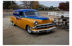 For Sale: 1954 Chevy 1500 Sedan Delivery | Hotrodhotline.com