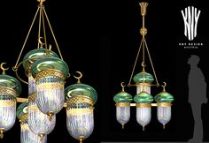 Mosque Decoration Pendant Lamp - Decorative Lighting for Mosque designed and manufactured by KNY Design Austria www.kny-design.com Light Decorations, Pendant Lamp, Chandelier, Decorative Lighting, Ceiling Lights, Mosques, Austria, Design, Home Decor